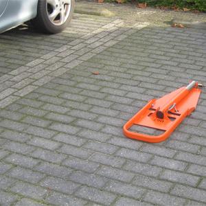 Automatische Parkeerbeugel Orange