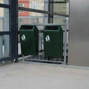 Afvalbakken Capitole