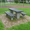 Picknickset Parkbank