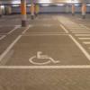 wegmarkering invalideparkeerplaats